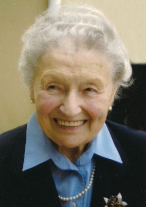 Portrait von Elfriede Kirchmayer