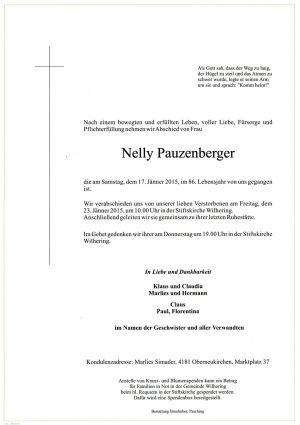 Portrait von Nelly Pauzenberger