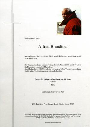 Portrait von Alfred Brandtner