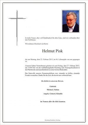 Portrait von Helmut Pisk