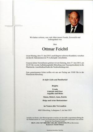 Portrait von Ottmar Feichtl