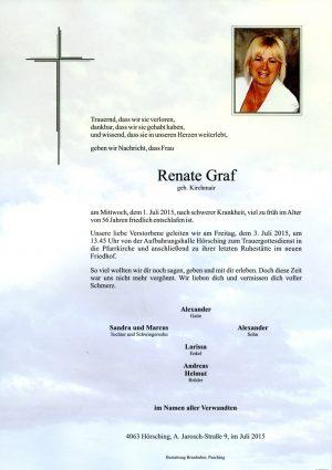 Portrait von Renate Graf