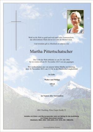 Portrait von Martha Pittertschatscher