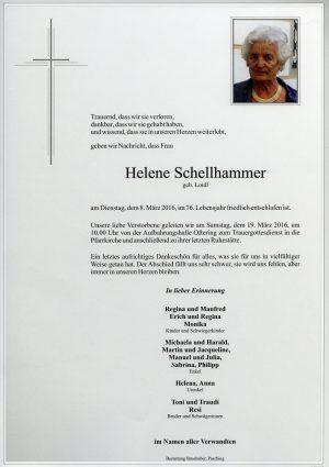 Portrait von Helene Schellhammer