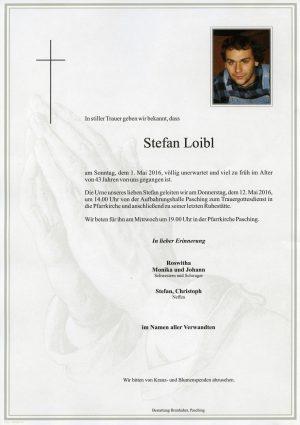 Portrait von Stefan Loibl