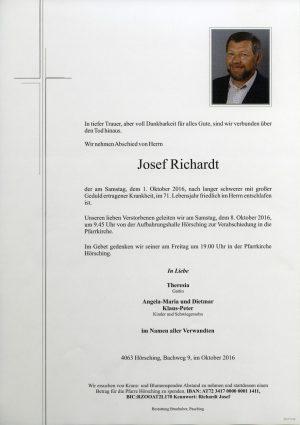 Portrait von Josef Richardt