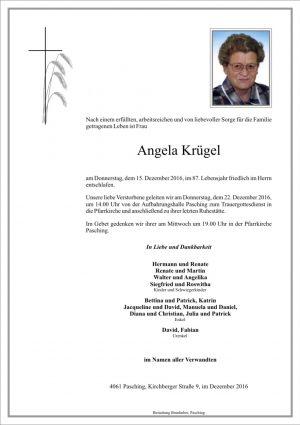 Portrait von Angela Krügel