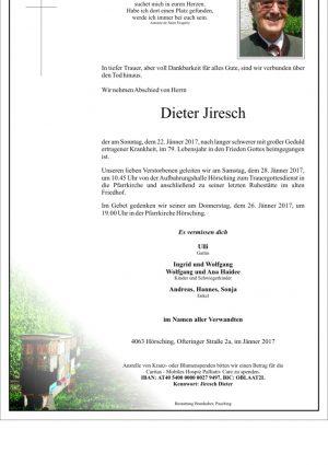 Portrait von Dieter Jiresch