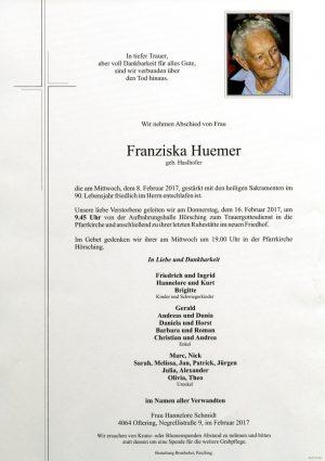 Portrait von Franziska Huemer