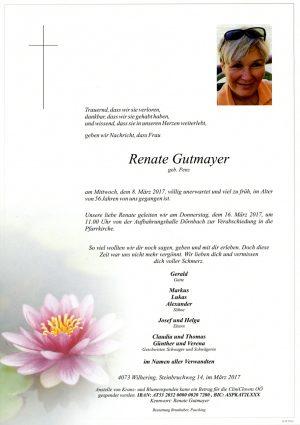 Portrait von Renate Gutmayer