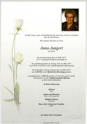 Portrait von Anna Jungert