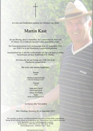 Portrait von Kast Martin