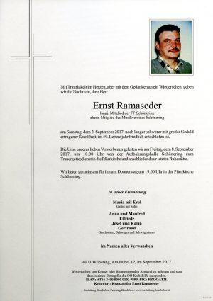 Portrait von Ernst Ramaseder