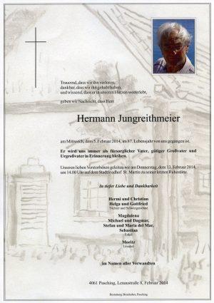 Portrait von Hermann Jungreithmeier