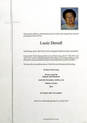 Portrait von Luzie Derndl