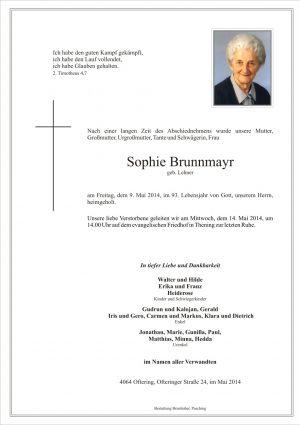 Portrait von Sophie Brunnmayr