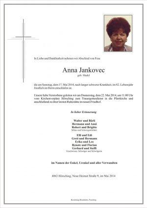 Portrait von Anna Jankovec