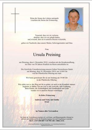 Portrait von Ursula Preining