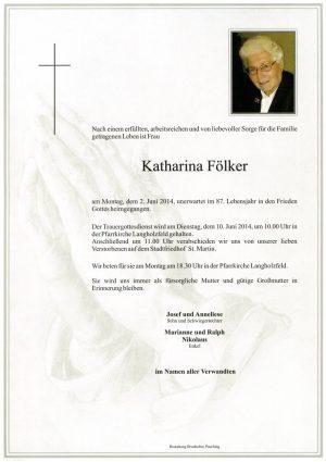 Portrait von Katharina Fölker