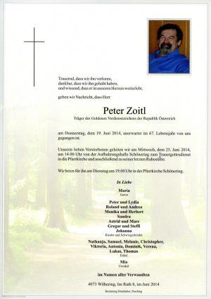 Portrait von Peter Zoitl