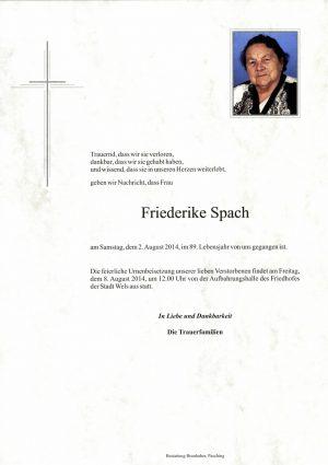 Portrait von Friederike Spach