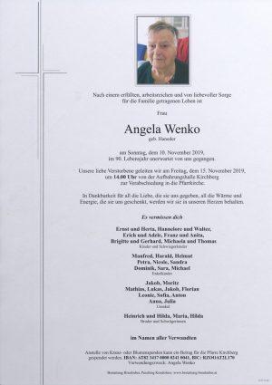 Portrait von Angela Wenko