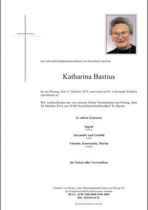 Portrait von Katharina Bastius
