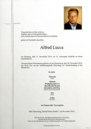 Portrait von Alfred Lucca