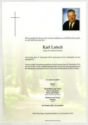 Portrait von Lutsch Karl