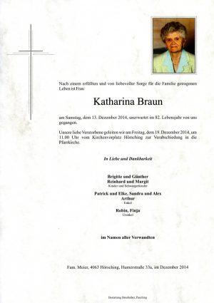 Portrait von Katharina Braun