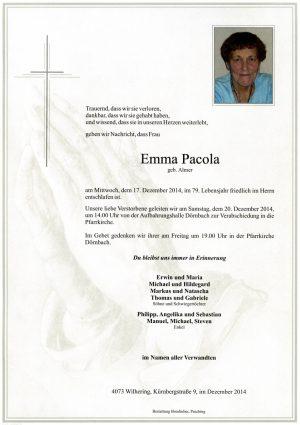 Portrait von Emma Pacola